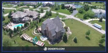 drone footage shows optic gaming scuf house in all its
