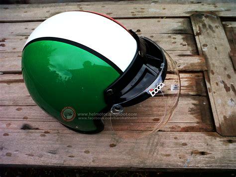 Sale Helm Bogo Vespa White Retro Black Pink helm bogo italy helm vespa