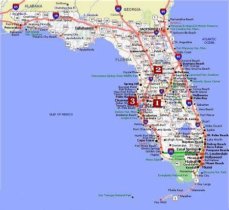 map us florida florida poster dealers travel map