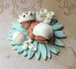baby boy baptism cake topper on luulla