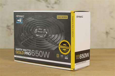 Dijamin Antec Ea Gold Pro 650w Ea650g Pro 80 Gold Modular antech thaitechnewsblog