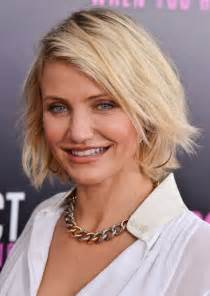 Best short bob hairstyles for women over 40 cameron diaz short