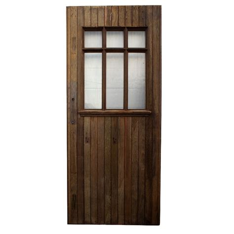 Antique Exterior Doors For Sale Amazing Antique Exterior Oak Plank Door With Bronze Hinges Ned97 Rw For Sale Antiques