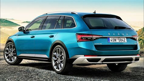 2020 Skoda Scout by 2020 Skoda Superb Scout Multifunctional Lifestyle Estate