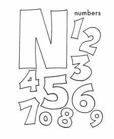 colors that start with the letter n letter n coloring pages selfcoloringpages