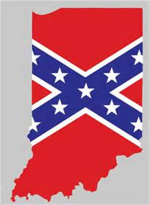 rebel flag indiana sticker american method