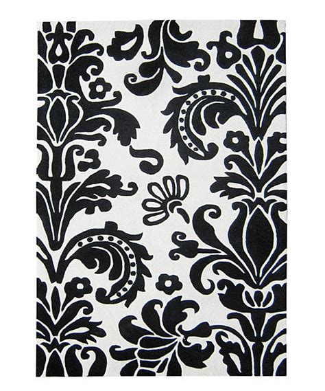 Black And White Damask Area Rug Black And White Damask Area Rug Black And White Damask Pattern 5 X7 Area Rug By Admin Black