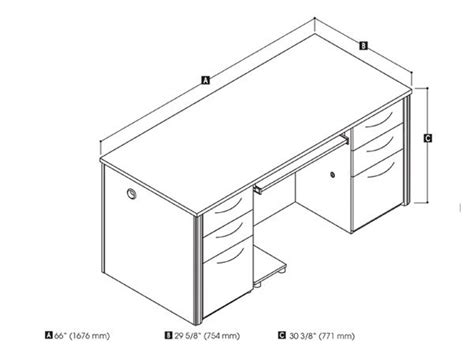 Average Desk Size by Standard Office Desk Dimensions Search Home