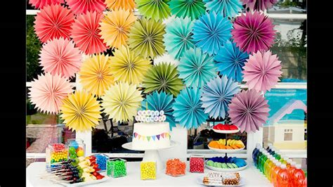 birthday theme decorations at home ideas for
