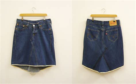 pattern for turning jeans into a skirt how to turn jeans into a skirt wendy ward