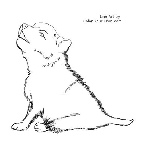 Wolf Puppies Coloring Pages | m playing wolf pups coloring pages coloring pages