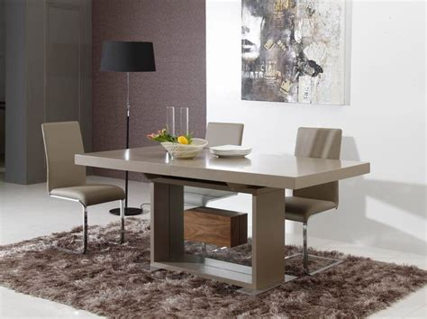 levi contemporary rectangle dining table