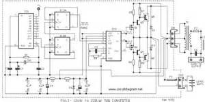 len trafo power inverter 100w 12v dc to 220v ac schematic design