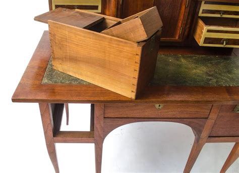 Waltons Desks by George Walton Arts And Crafts Walnut Desk With Secret