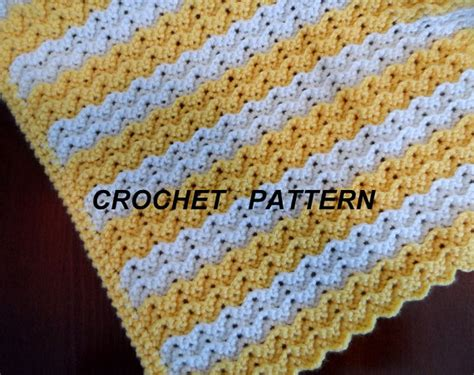free easy ripple crochet baby blanket pattern my crochet crochet blanket pattern petite ripple baby afghan pattern