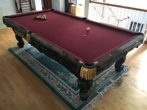 official size pool tables for sale used pool tables for sale boston massachusetts