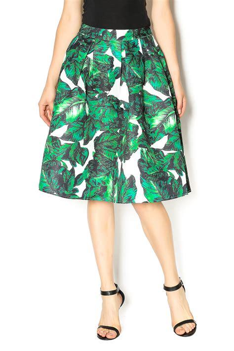 jenn floral midi skirt from manhattan by dor l dor