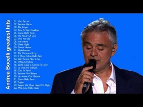 andrea bocelli best song album best songs and greatest hits on