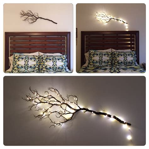 Tree Branch Decorations In The Home Bedroom Decor Artificial Manzanita Tree Branches Wall