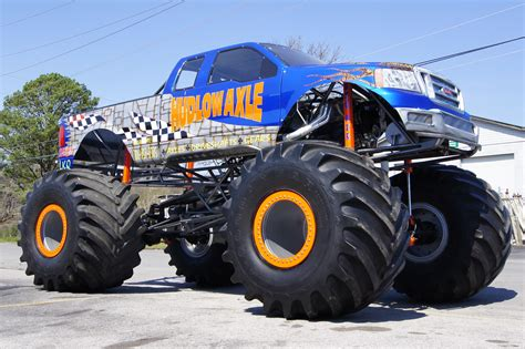 Hudlow Axle Monster Truck Built By Hudlow Axle Hudlow