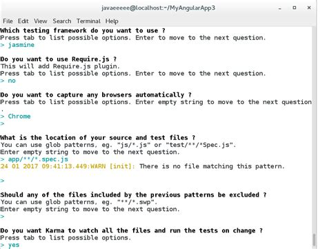 node js karma tutorial angularjs tutorial unit testing angular applications