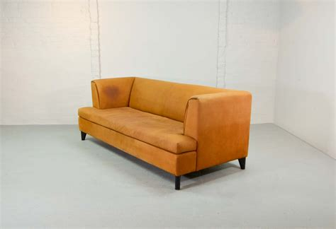 Nubuck Leather Sofa Halton Nubuck Leather Sofa Homeplaneur Russcarnahan