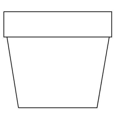 coloring page of flower pot flower pot template printable flower pot coloring page