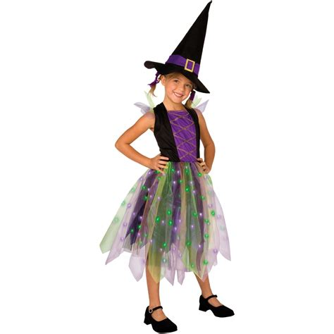 Light Witch by Buy Light Up Rainbow Witch Costume