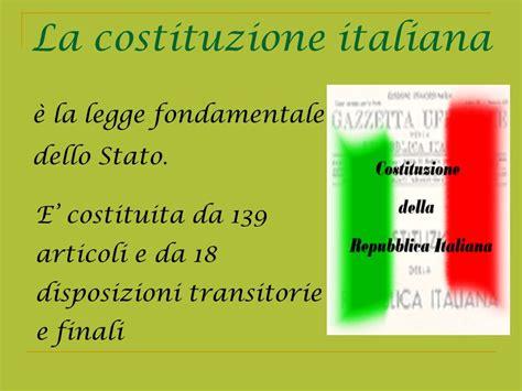 testo della costituzione italiana la costituzione italiana ppt scaricare