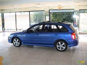laser blue mica 2003 mazda protege 5 wagon exterior photo