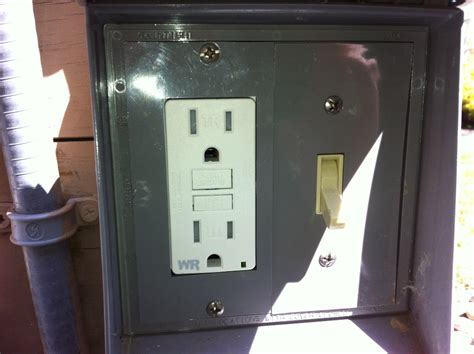 gfci and light switch in the same box how to replace a dead gfci outlet all about the house