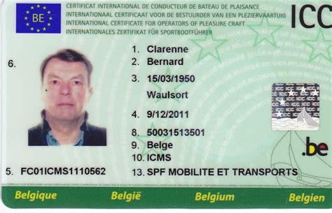 vaarbewijs icc brevet icc