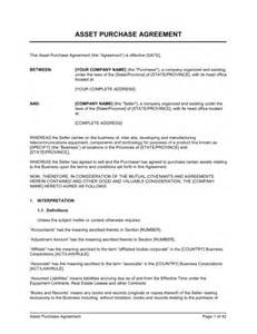 Business Agreement Letter Doc Simple Purchase Agreement Form Free Printable Documents