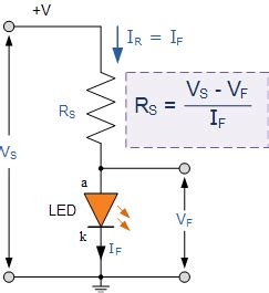 what is a resistor diode light emitting diode or the led tutorial