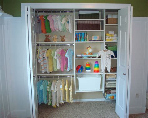 Baby In Closet by Bringing Home Baby How To Organize The Nursery Garage