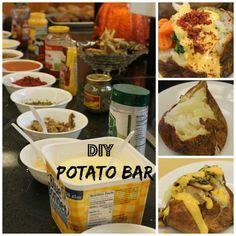 toppings for baked potatoes bars baked potato bar recipe baked potato toppings wedding