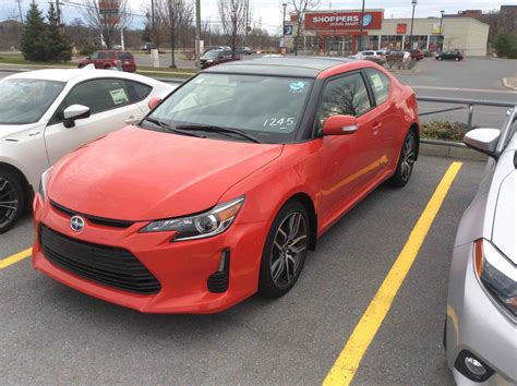 new 2016 scion tc 6 speed manual for sale in kingston