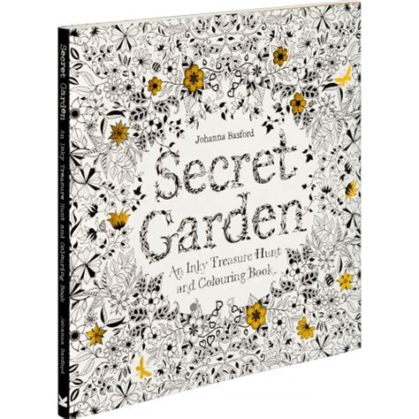 secret garden an inky treasure hunt and coloring book uk colouring books by laurence king
