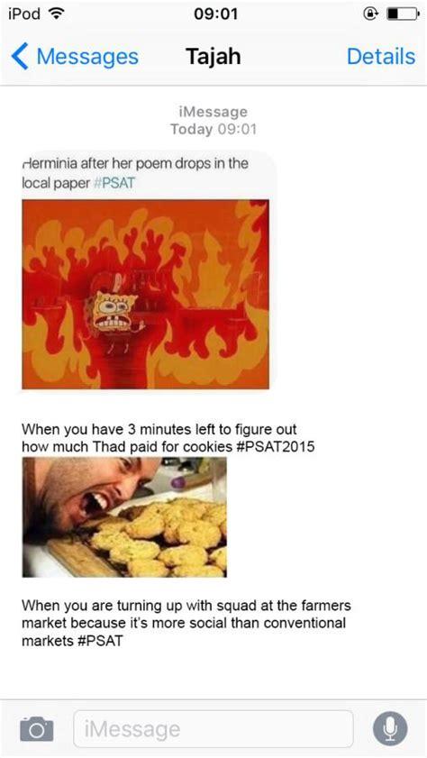 Psat 2018 Memes - students turn the psat into meme scenes the lion s roar