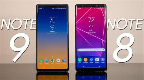 R Samsung Galaxy Note 8 Samsung Galaxy Note 9 Vs Samsung Galaxy Note 8