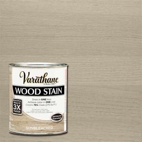 varathane 1 qt 3x sun bleached premium wood stain 2 pack