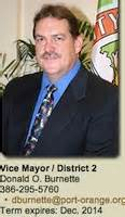 Port Orange Donald O Burnette Mba by Port Orange City Councilman Don Burnette Thrilled With