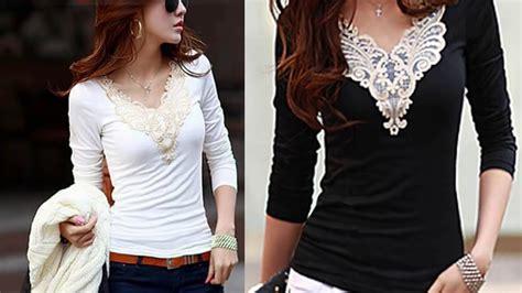 blusas de moda 2016 moda juvenil 2016 youtube blusas tendencia y moda trends and fashion blouses youtube