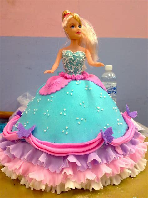 Barbie Fondant Cake | kay bakery 2nd fondant barbie cake