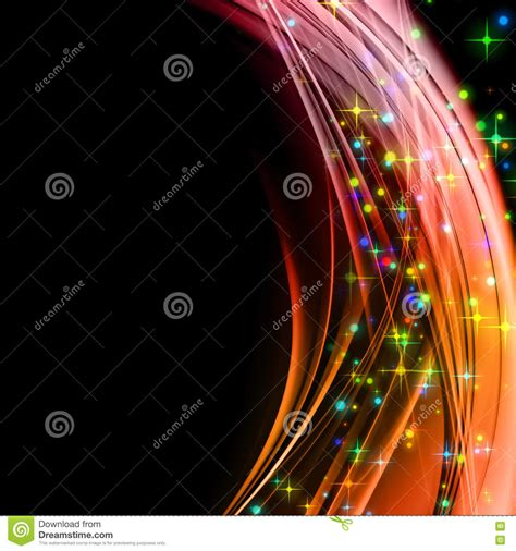 taking a stock of space lighting and design in your fantastic christmas wave design royalty free stock photo