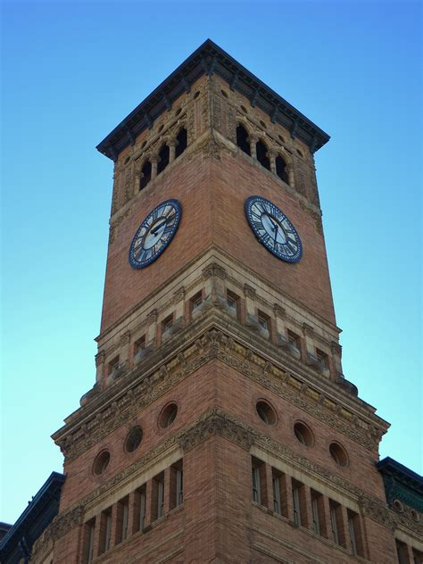 colville wa city center clock tower photo picture tacoma old city hall clock tower
