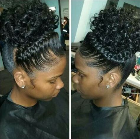 braided ponytail hairstyles for black women on pin up braided hairstyles for black girls 30 impressive