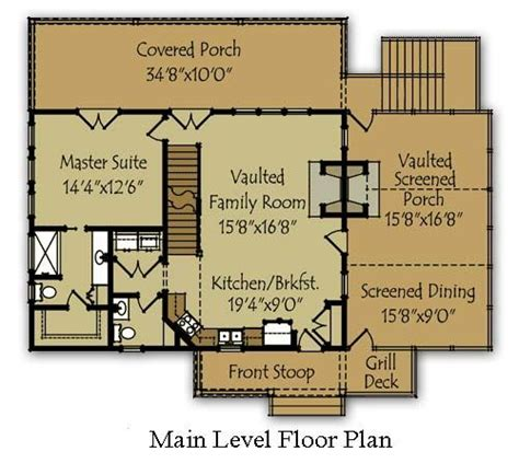 small lake house floor plans small lake house plans bing images garden pinterest