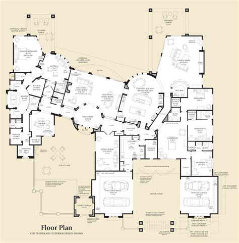 Saguaro Estates The Cadiz Home Design Arizona House Plans For Sale