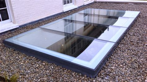 astroglaze rooflights double glazed with thermally